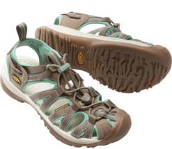 Keen Whisper Taglie 7 M (B) Eu 37.5 Donna Sport Sandali Shoes Shitake/Ma... - $58.59