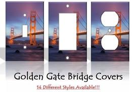 Golden Gate Bridge San Francisco USA Light Switch Covers Home Decor Outlet - $6.89+