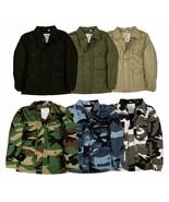 Top Gun Kids Children Combat Military Field Jacket Camouflage Solid Army... - $17.04