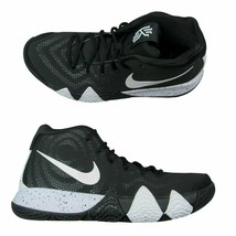 nike Kyrie 4 TB Basketball Black White Irving Sneakers AV2296-001 Sizes ... - $59.99