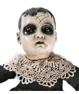 Gothic Creepy Haunted TALKING PRECIOUS BABY DOLL w/ SOUND Horror Prop De... - $42.72