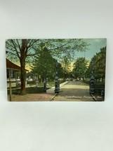 1912 Entrée Pour Vert Pelouse Cimetière Portsmouth Ohio Carte Postale - $10.02