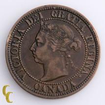 1891 - SL - SD - Obverse # 3 Canada Cent Coin,  KM# 7 - $128.70