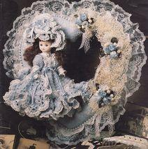 4 Crochet Victorian Sweetheart Doll Wreath Felicity Kendra Annie's Attic... - $11.99