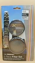 Vivitar 58mm 5 Piece Filter Set UV CPL - $5.50