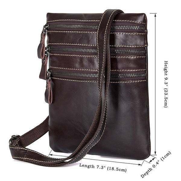 Sale, Vertical Messenger Bag, Vintage Leather Messenger Bag, Men Large Messenger