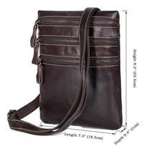 Sale, Vertical Messenger Bag, Vintage Leather Messenger Bag, Men Large Messenger image 1