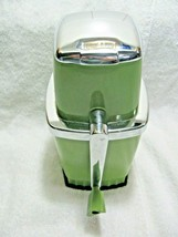 Vintage Collectible SWING-A-WAY Avocado Green Manual Ice Crusher-Camp-Ca... - $39.95