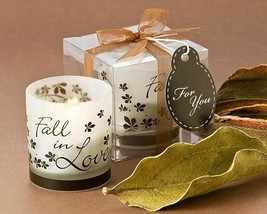 Fall in Love Tea Light Candle Holders Set of 4 - $14.49