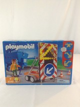 New 2007 Playmobil 4049 Signal Light On Trailer Building Toy Playset - $46.74