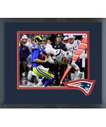 Kyle Van Noy Super Bowl LIII Action-11x14 Team Logo Matted/Framed Photo - $43.55
