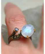 *FAIRY QUEEN jinn ring*  witchcraft vessel coven owned RARE SUCCESS & lo... - $327.96