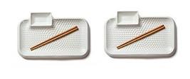 Tnlife Multi Serving Ceramic Plate Sauce Tray Rectangular Multipurpose Kitchenwa