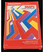 SNAFU Intellivision Game COMPLETE in Box With Control Overlays And Manua... - $8.35