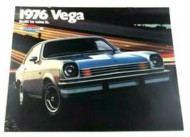 Chevrolet 1976 Vega Sales Brochure Hatchback Sport Coupe GT And Cosworth  - $7.99