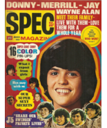 SPEC MAGAZINE - March 1972 - MISSING POSTERS - THE CARPENTERS, PARTRIDGE... - $7.99