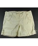 """VENEZIA Size 22 Khaki Cotton Pockets 7"""" Shorts - $5.99"""