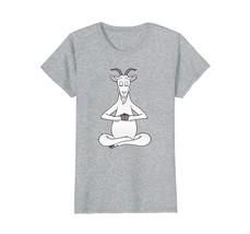 Goat Namaste Yoga Shirt Funny Pet Gift T-Shirt - $19.99+