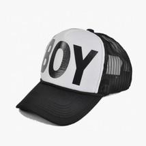 Black White Boy Printed Baseball Cap For Family Snapback Hat Hip Hop For... - £7.58 GBP