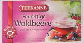Teekanne Forest Berries/ Fruchtige Waldbeere - 20 tea bags- Made in Germany - $5.83