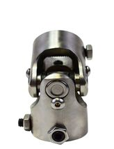 """Forged Stainless Steel YokesSteering Shaft Universal  U-JOINT 1"""" DD TO 1"""" DD image 6"""