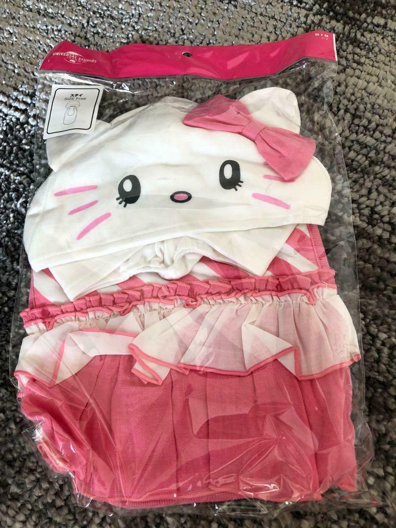 limited  Hello Kitty USJ  Kitty-chan styling, hat set Universal Studio japan - $35.00