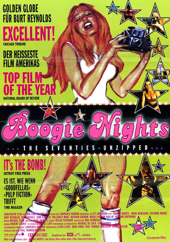 Boogie nights movie poster 11x17