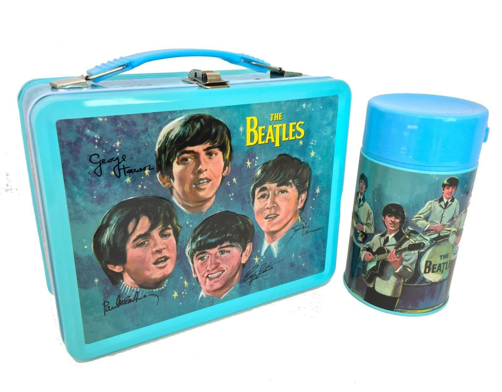 Beatles lunchbox and thermos