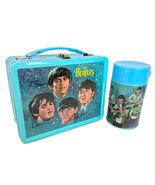 Beatles Metal Lunch Box w/ Thermos New Lunchbox NOS + Stereo & Mono Sets... - $250.00