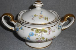 Castleton China SUNNYVALE PATTERN Sugar Bowl w/Lid MADE IN USA - $63.35