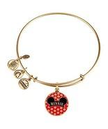 Alex and Ani Disney Parks Minnie Mouse Ears Hat Charm Bracelet (Gold fin... - $97.01