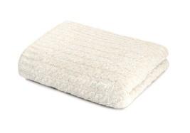 Kashwere Throw Blanket Mini Cable Heather Malt & White - $165.00