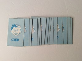 THE MAD MAGAZINE board game 24 CARDS complete set 1979 replacement pieces parts - $8.59
