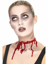 Barbed Wire Halloween Fake Latex Joke Scar Fancy Dress Zombie Special FX Make Up - $17.02