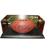 Football unsigned Display Case w/ Black Base  - $29.95