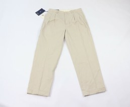 New Polo Ralph Lauren Mens Size 32x30 Pleated Hammond Chino Pants Khaki ... - $44.50