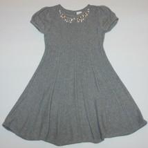 Gymboree Joyful Holiday Gem Collar Sweater Dress 5 - $19.99
