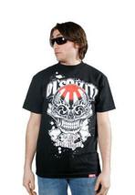 Dissizit! Black or White Jiro Skull Lil Tokyo Graffiti T-Shirt Los Angeles Slick image 1