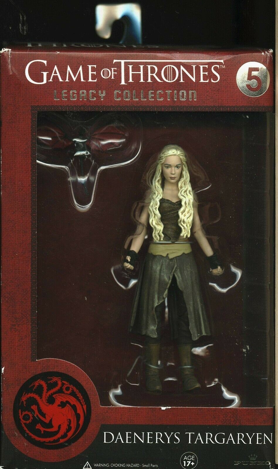Primary image for DAENERYS TARGARYEN FIGURE FUNKO LEGACY COLLECTION 5 GAME OF THRONES NEW IN BOX