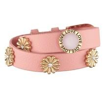 """Avon Charming Floral Wrap Bracelet """"Pink"""" - $12.99"""