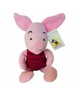 Walt Disney World Plush vtg stuffed animal Disneyland Piglet NWT Winnie ... - $24.14