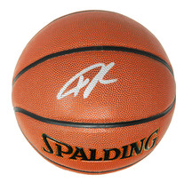 Giannis Antetokounmpo Signed Spalding NBA Indoor/Outdoor Basketball - $350.00