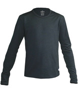 Hot Chillys Youth Midweight Banded Crew, Black, Small - $32.67