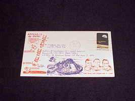 1970 Apollo 13 Re-Entry Cover Envelope with Apollo 8 Stamp, Cape Canaver... - $8.95