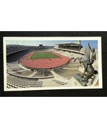 1992 Brooke Bond Olympic Challenge Tea #34 Barcelona Stadium Card - $1.93