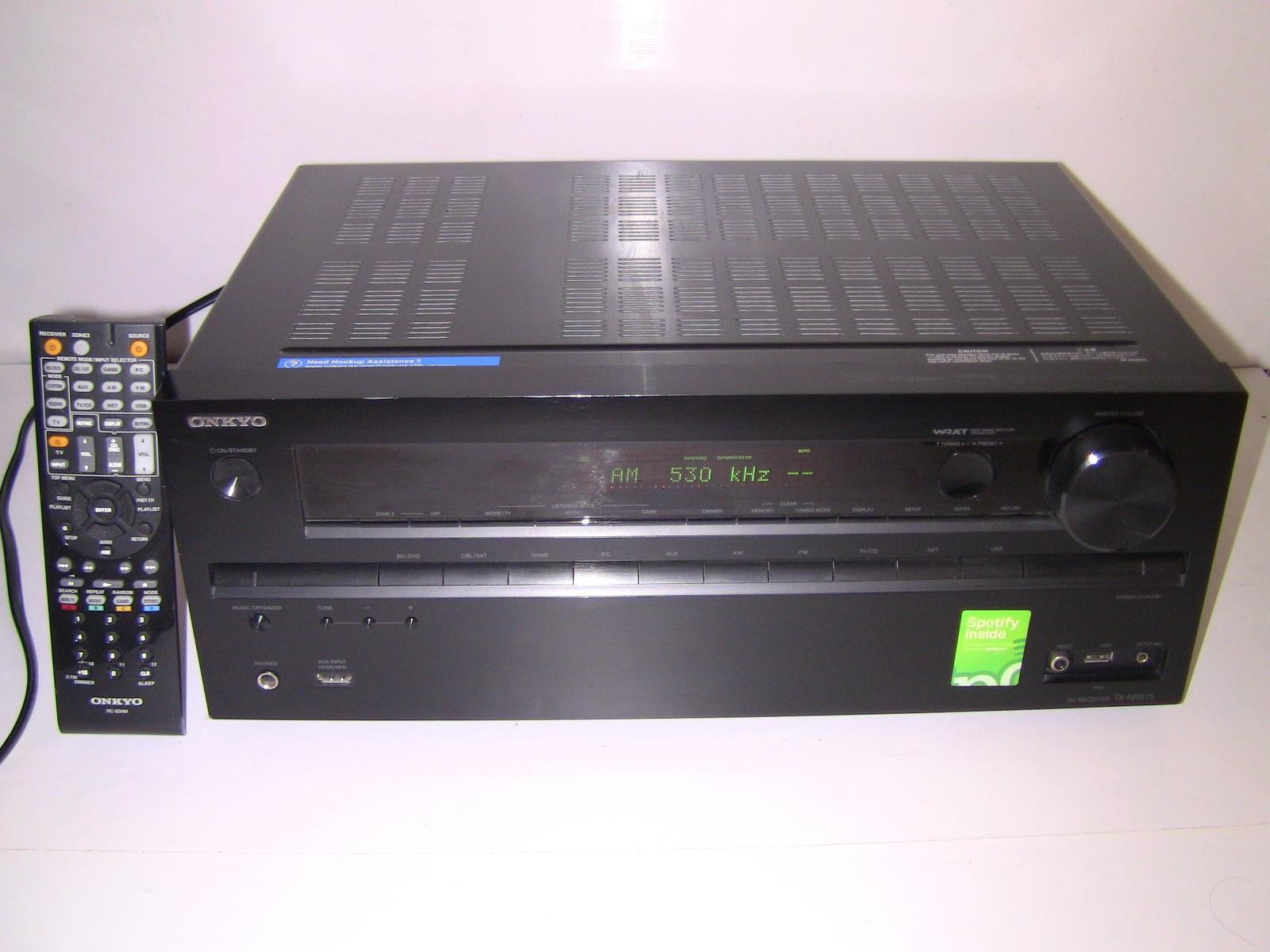 ONKYO TX-NR515 7.2-Channel Surround Sound HDMI Network AV