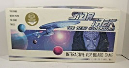 "1993 ""Star Trek: The Next Generation"" (Interactive Vcr) Board Game, Sealed Tape! - $28.04"