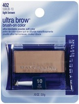 Maybelline New York Ultra-Brow Brow Powder, Shade #10 Light Brown, 0.1 O... - $10.64
