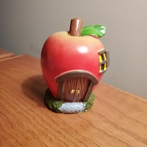 Apple Fairy House, Miniature House, Fairy Garden Crafts, Garden accessories image 2
