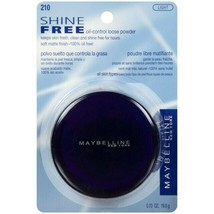 Maybelline Shine Free Oil Control Loose Powder # 210 Light (READ DESC) - $7.42